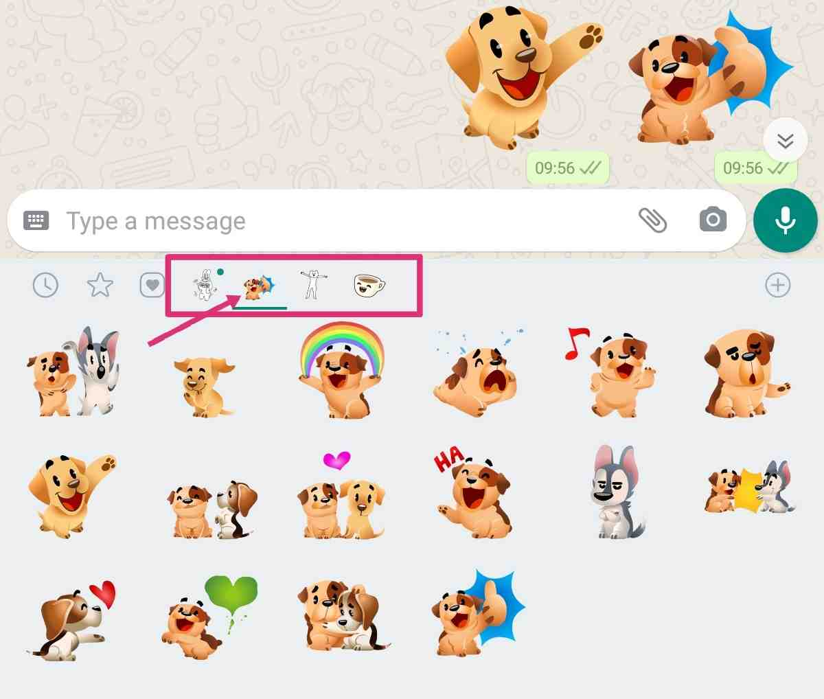 How to Use Animated Stickers in Whatsapp How to send Animated Stickers in Whatsapp