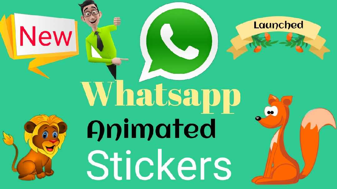 How to Use Animated Stickers in Whatsapp ANDROID Q OFFICIAL NAME